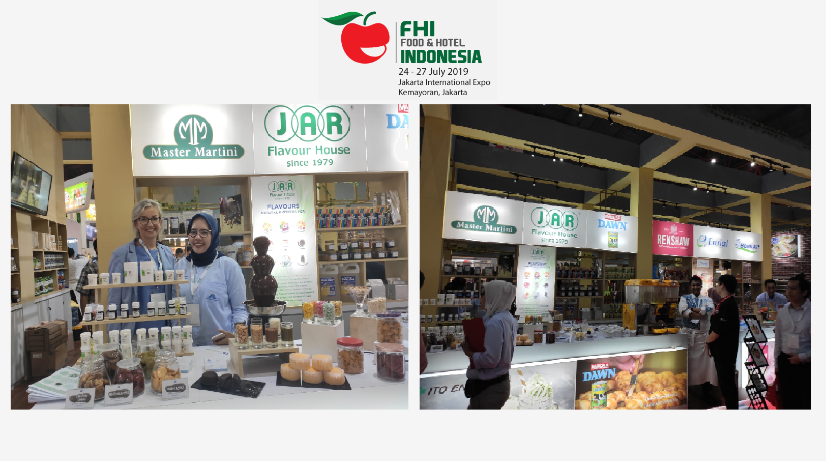 Jakarta, International EXPO, Indonesia 2019 - JAR Aromaty Flavour House